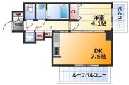 アドバンス新大阪6ビオラの画像