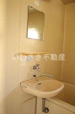 洗面台 201号室参考写真
