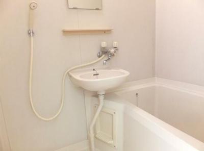 【浴室】アパート松毯