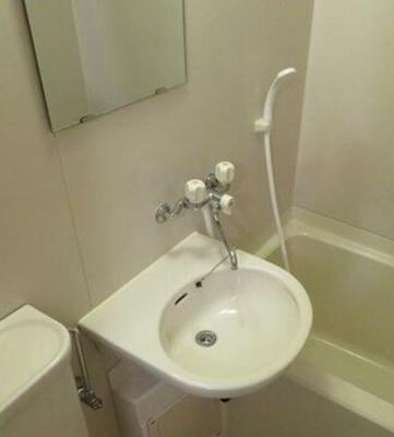 【洗面所】ピュアメゾンときわ台