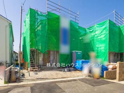 【前面道路含む現地写真】我孫子市下ケ戸第9 新築戸建 1号棟