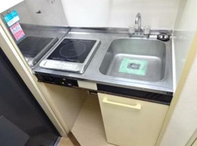 【キッチン】レオパレス志村第1