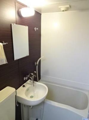【浴室】レオパレス志村第1
