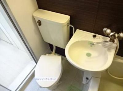 【トイレ】レオパレス志村第1
