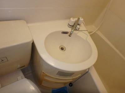 【洗面所】フラワーマンション