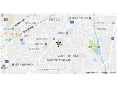 【地図】第1藤マンション (株)Roots