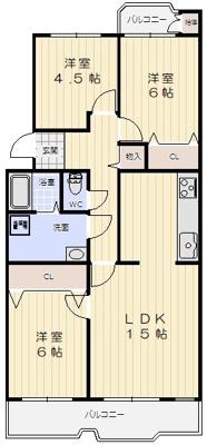 【内装】北落合第2住宅357号棟