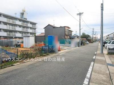 【前面道路含む現地写真】名古屋市西区歌里町171【仲介手数料無料】新築一戸建て 2号棟