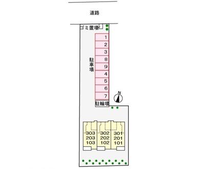 【区画図】H,プロムナ-ド