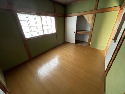 【寝室】喜志町4丁目貸家