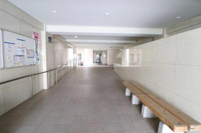 建物内部です。