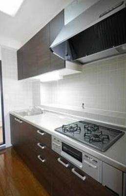 【キッチン】アパートメントバラヤマ