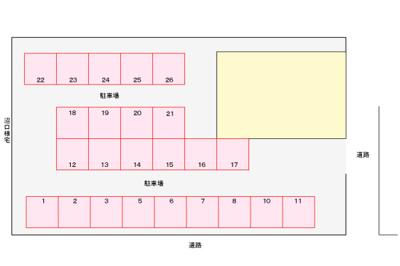 【区画図】カーバリーハウス