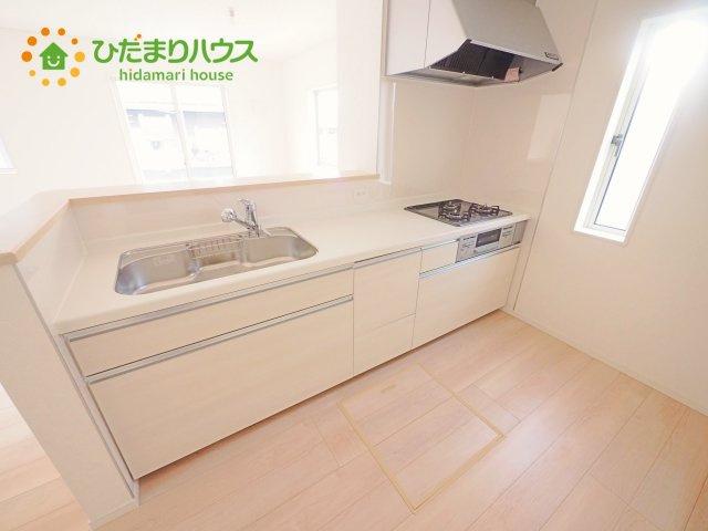 【キッチン】下妻市高道祖第1 新築戸建 1号棟