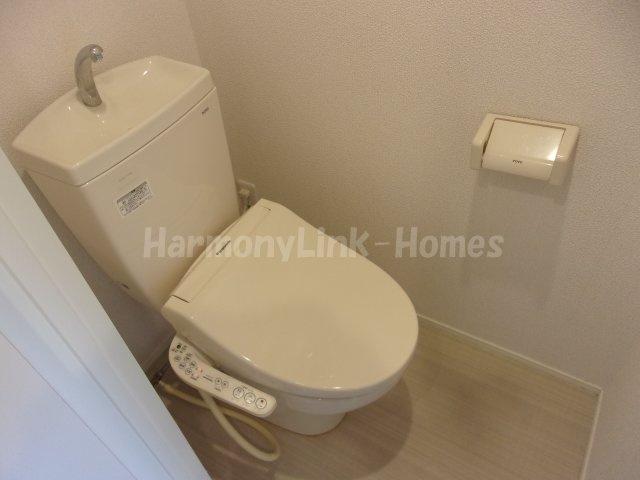 ココテラスのコンパクトで使いやすいトイレです☆