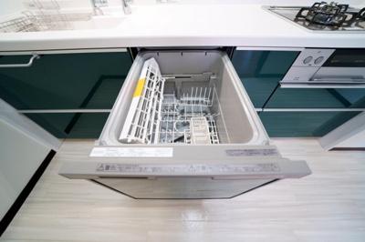 食器洗浄機付です。洗い物は食洗機にお任せできます。