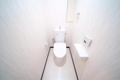 洗浄機能付トイレです。