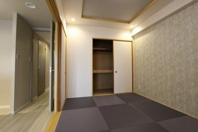 和室ならではの温かな和の空間で寛ぎの時間を過ごせます:リフォーム完了済♪平日も内覧出来ます♪