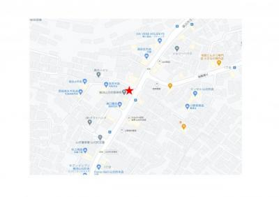 【地図】方駐車場