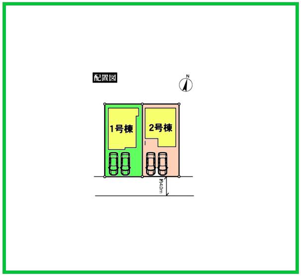 区画図です。建物は設計性能評価で耐震等級など最上位等級を取得していますので安心です。