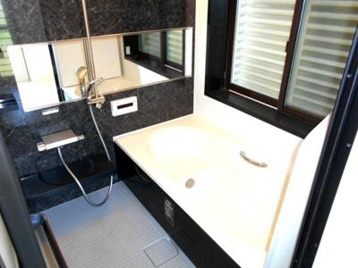 【浴室】中古戸建 加須市柏戸(新古河) 全1棟 1号棟 100坪