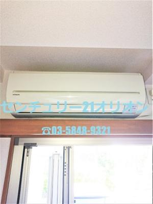 エアコン付のお部屋は入退去の際に手軽です