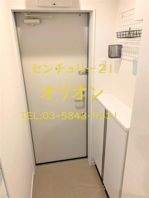 【玄関】アルデア鷺宮(サギノミヤ)-1F