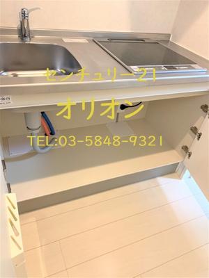 【キッチン】アルデア鷺宮(サギノミヤ)-1F