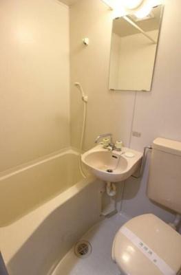 【浴室】コーポ葉月