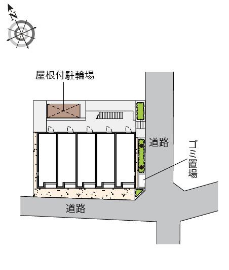 【地図】戸部