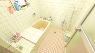 まだまだ利用可能なバスルーム 1坪サイズ。