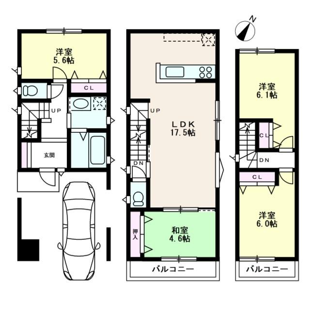 松風町 新築戸建の画像