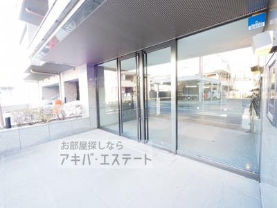 【エントランス】ルーブル目黒不動前