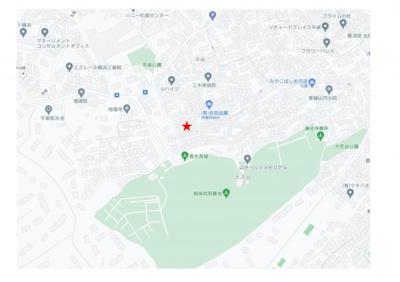 【地図】平楽ハウス駐車場