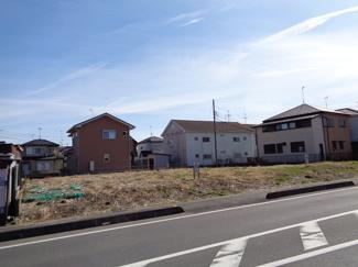 【前面道路含む現地写真】菖蒲町―小山―売地