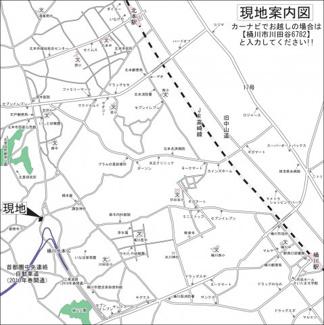 【地図】埼玉県桶川市川田谷分譲地 6号区画 土地