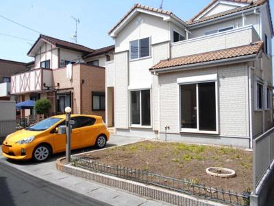 価格変更・花崎駅徒歩17分・駐車場2台並列・南向き庭付き・4LDKとバルコニー・大桑小・平成中・