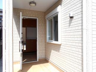 【玄関】中古戸建 加須市 南篠崎1丁目 45坪 全1棟 1号棟