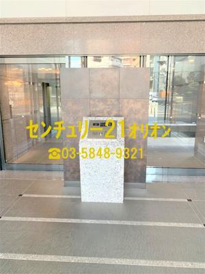 【エントランス】ルーブル練馬弐番館