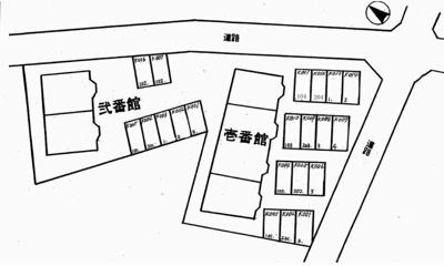 【区画図】オマージュ弐番館