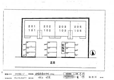 【区画図】アメニティカスガⅠ