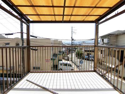 【バルコニー】伏見区日野谷寺