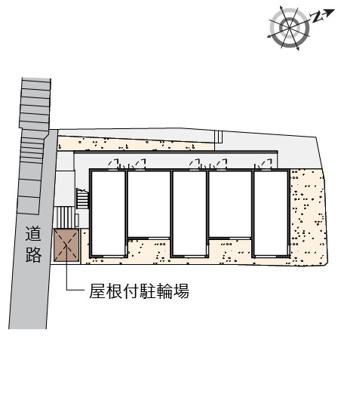 【地図】ハウス