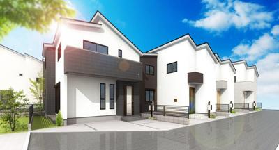 【外観】A120 新築戸建 日野市多摩平1丁目 2号棟