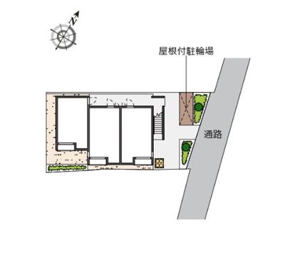 【区画図】コンフォート汐入Ⅱ