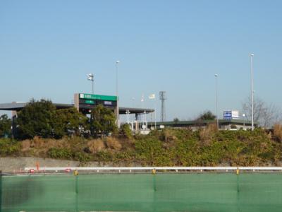 北関東自動車道前橋南ICまで4,421m