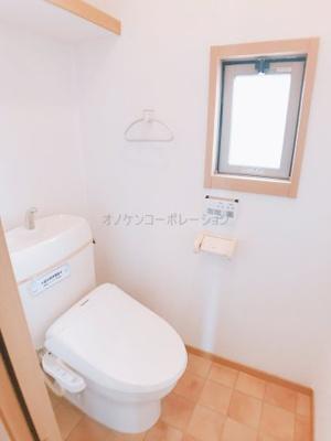 【トイレ】コンフォート大島ⅡC