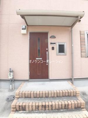 【玄関】コンフォート大島ⅡC