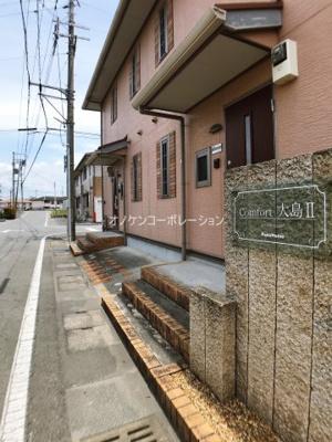 【エントランス】コンフォート大島ⅡC