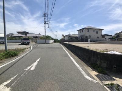 【前面道路含む現地写真】福間駅東売地